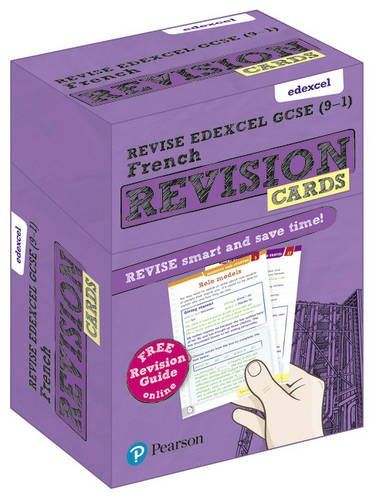Revise Edexcel GCSE (9-1) French Revision Cards:
